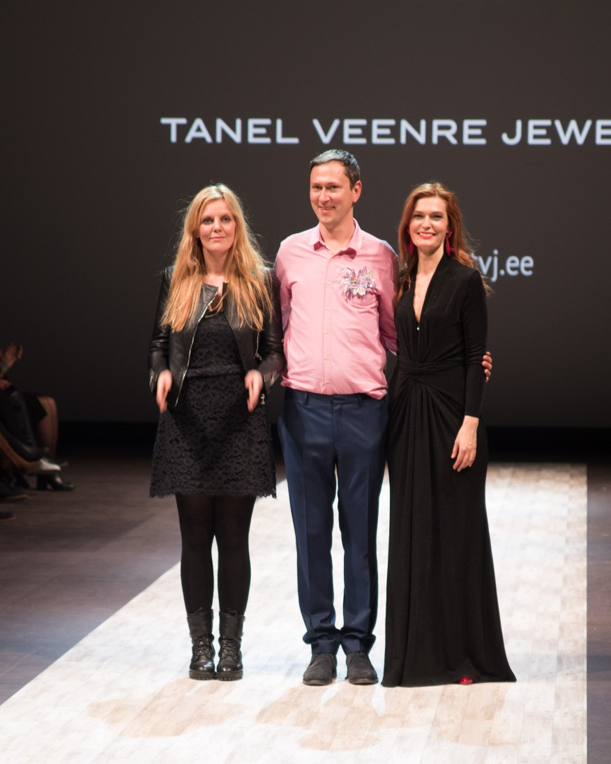 Embassy Of Fashion 2016 Ketlin Bachmann, Aldo Järvsoo and Riina Põldroos